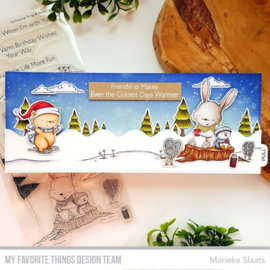 My Favorite Things Frost-Loving Friends Clear Stamps (SY-26)