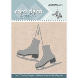 CDEMIN10034 - Card Deco Essentials - mini dies - Ice Skates