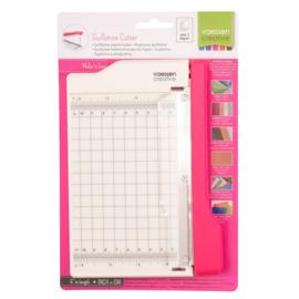 2137-056 - Vaessen Creative • Mini guillotine papiersnijder 15 cm