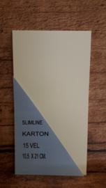 SLIMLINE KARTON