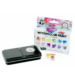 WCBM01-Studio Light Watercolor Paint-Bold & Bright