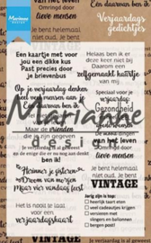 CS1006-Verjaardagsgedichtjes (NL) Clear Stamp