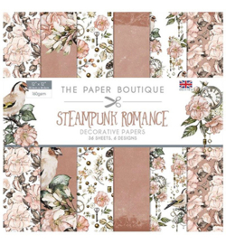 PB1208-Creative Expressions- Steampunk Romance-12x12 inch paper pack