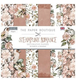 PB1208-The Paper Boutique- Steampunk Romance-12x12 inch paper pack