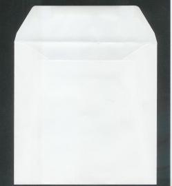 11-9002-7     Quadratische Umschläge 14x14 cm - Weiss