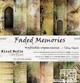 Craft O' Clock - Mixed Media Collection - Faded Memories