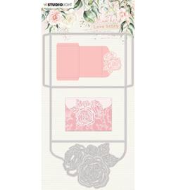 SL-ALS-CD03 - SL Cutting Die Rose envelope Another Love Story nr.3