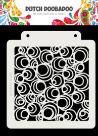 470.715.141-Dutch Mask Art Doodle Circle-Dutchdoobadoo