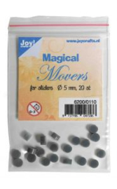6200/0110-Magical Movers voor sliderstencils-Ø 5 mm - 20 st