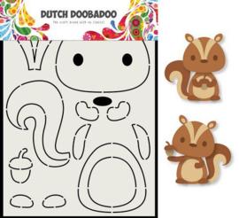 470.713.797-Dutch Doobadoo Card Art Eekhoorn A5