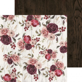 P2568-Kaisercraft paper 30,5x30,5cm Gypsy rose inspiring