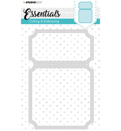 STENCILSL116-Studio Light embossing die cut Essentials nr.116
