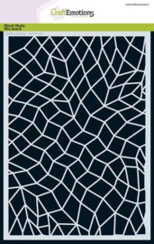 185070/1263 - CraftEmotions Mask stencil - golven