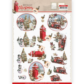 CD11562-3D cutting sheet - Amy Design - Nostalgic Christmas - Christmas Train