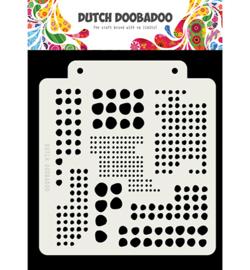 470.715.138-Dutch Doobadoo Mask Art Blobs