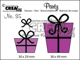 CLPartz35-Crealies-Partzz stansen no. 35, Kadootjes