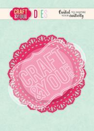 Craft&You Cutting Die Doily 4 CW106