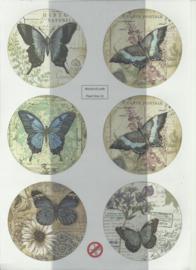 BOWOC 150-2212-UV vlinders uitdrukvel