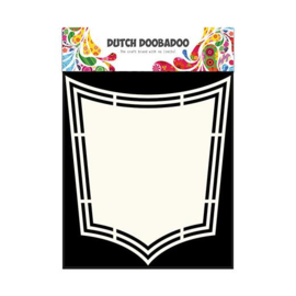 470.713.158-Dutch Doobadoo Shape Art Template - Shield
