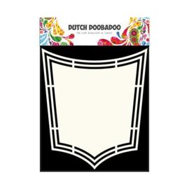 470.713.158-Dutch Doobadoo Shape Art Template - Shield