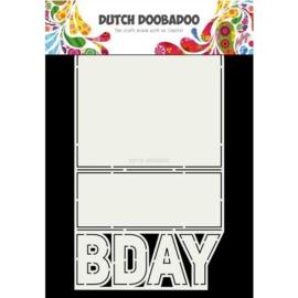 470.713.698 - Dutch Doobadoo Card art BDAY