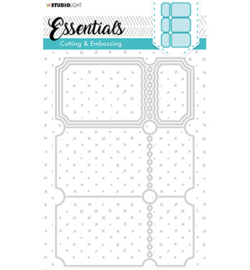 STENCILSL279 - Embossing Die Cut Essentials nr.279-Studio Light