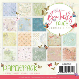 JAPP 10019 PAPERPACK Jeanine's art Butterfly touch
