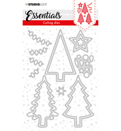 SL-ES-CD61 - Studio Light Cutting Die Christmas Trees Essentials nr.61