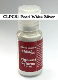 CLPC51-Parelmoerpoeder wit-zilver