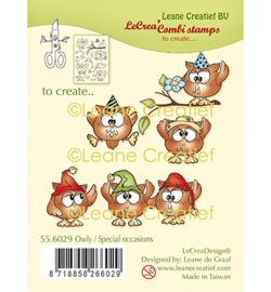 55.6029-Leane Creatief-Owly/ Special Occasions