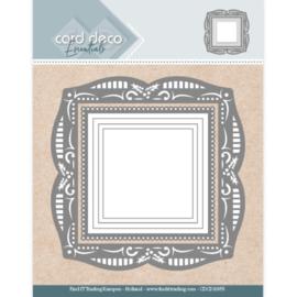 CDCD10055-Card Deco Essentials - Aperture Dies Holly Square