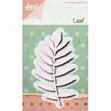 6002/0493 - Joy Crafts Leaf