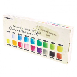 WCJMA01 - Studio Light • Aquarelset Jenine's mindful art 2.0 nr.01