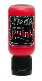 DYQ70474 - Ranger Dylusions Paint Flip Cap Bottle - Fiery Sunset