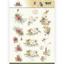CD11311-3D Knipvel - Precious Marieke - Blooming Summer - Sweet Summer Flowers