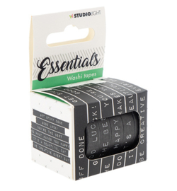 WASHISL01-Washi Tape, Essentials nr.01-Studio Light