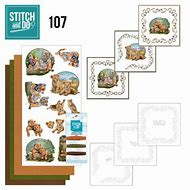 STDO107 - Stitch and Do 107 Wild Animals