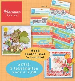 PA4113 - Marianne Design Assorti teksten
