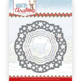 YCD10242-Wintery Christmas - Stars Frame