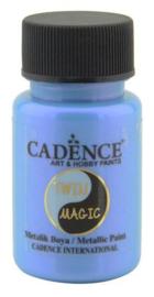 301245/0013-Cadence Twin Magic metallic verf paarsblauw-50 ml