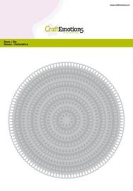 115633/0941-CraftEmotions Big Nesting Die - cirkels scalop XL drop Card 150x160 3,6-13,0cm