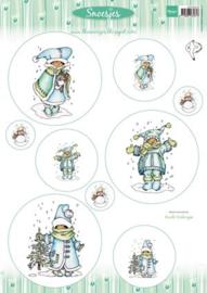 Bogen- 3DHM0058-snoesjes- (kostenlos) Limit 1 pro Kunde