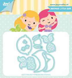 6002/1415 - Joy crafts - Zeemeermin - Kleine Suze