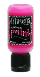 DYQ70573 - Ranger Dylusions Paint Flip Cap Bottle - Peony Blush