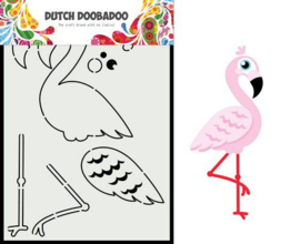 470.713.880 -Dutch Doobadoo Dutch Card Art built up Flamingo A5