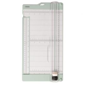 2207-109-Vaessen Creative - Papiersnijder met rilfunctie- 15x30,5cm- mint