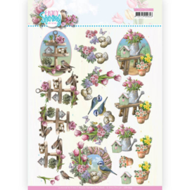 CD11655-3D Cutting Sheet - Amy Design - Enjoy Spring - Spring Decorations