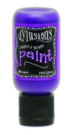 DYQ70436 - Ranger Dylusions Paint Flip Cap Bottle - Crushed Grape