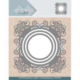 CDCD10054-Card Deco Essentials - Aperture Dies Holly Round