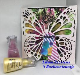 STAMPEG435 - Studio Light Stamp Background English Garden